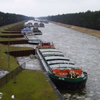 Oder-Havel canal: geotechnical consulting services and stability analysis of the banks for canal extension