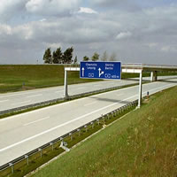 Motorway A17 Dresden – Prague: soil investigations, soil testing and site supervision