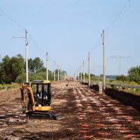 Railway line Hamburg – Berlin, consulting services of the soil improvement measures